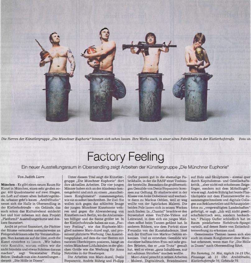 Sueddeutsche Zeitung - Factory Feeling