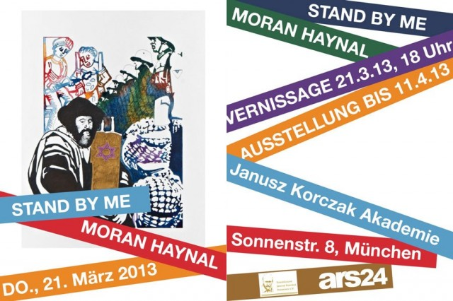 Moran Haynal Ausstellung: Stand By Me m Janusz Korczak Haus München